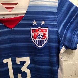 purchase cheap d19c7 3abfc Alex Morgan 2015/2016 Authentic USA WNT Jersey